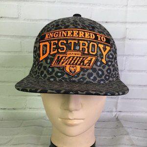 MNWKA Engineered to Destroy Snapback Hat Mishka